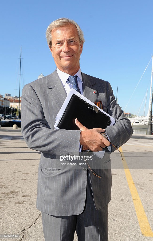 Vincent Bollore Vice President of Gerali Group attends Assicurazioni Generali S.p.A. Shareholders General Meeting on April 28, 2012 in Trieste, Italy. Assicurazioni Generali, founded in 1831 in Trieste it is a key player in continental Europe. With a significant presence in all the main countries, it ranks first in Italy and second in Germany and France.