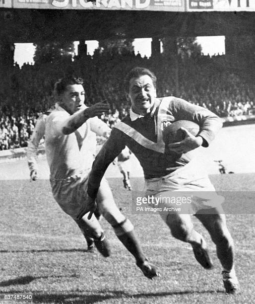 Vincent Cantoni in action for France