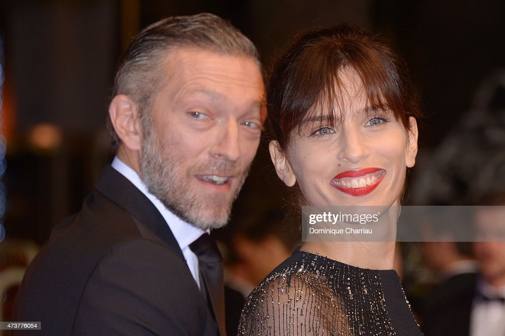 <a gi-track='captionPersonalityLinkClicked' href=/galleries/search?phrase=Vincent+Cassel&family=editorial&specificpeople=220849 ng-click='$event.stopPropagation()'>Vincent Cassel</a> and Maiwenn attend 'Mon Roi' Premiere during the 68th annual Cannes Film Festival on May 17, 2015 in Cannes, France.