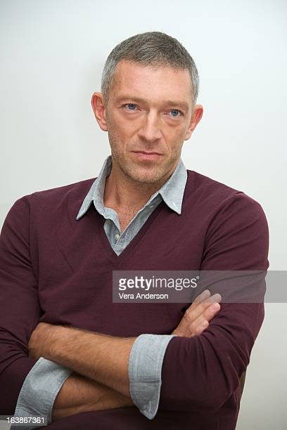 Vincent Cassel at the 'Trance' Press Conference at the Four Seasons Hotel on March 15 2013 in Beverly Hills California