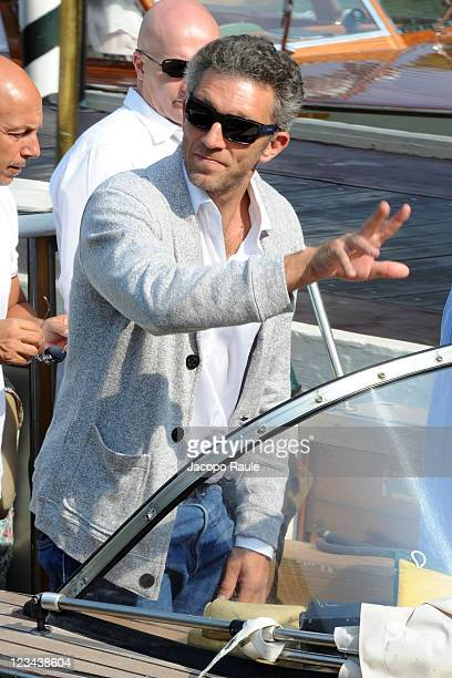 Vincent Cassel attends The 68th Venice International Film Festival on September 3 2011 in Venice Italy