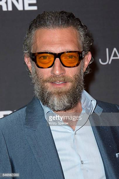 Vincent Cassel attends the 'Jason Bourne' Paris Premiere at Cinema Pathe Beaugrenelle on July 12 2016 in Paris France
