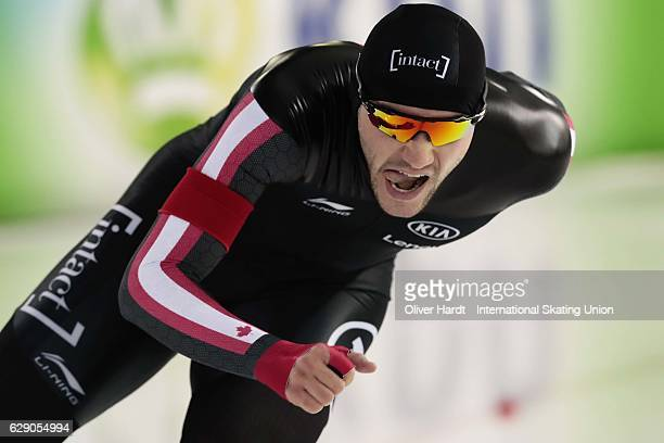 Vincent De Haitre of Canada during the Mens A Divison 1500m during ISU World Cup Speed Skating Day 2 on December 10 2016 in Heerenveen Netherlands