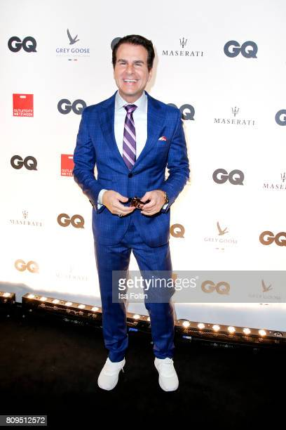 Vincent De Paul attends the GQ Mension Style Party 2017 at Austernbank on July 5 2017 in Berlin Germany