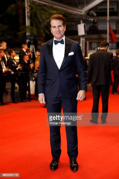 Vincent de Paul attends the 'Jupiter's Moon' screening during the 70th annual Cannes Film Festival at Palais des Festivals on May 19 2017 in Cannes...