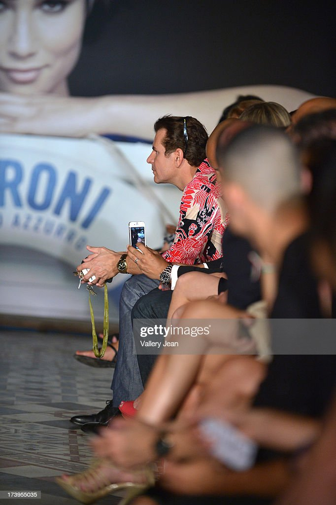Vincent De Paul attends the Peroni Emerging Designer Series presented by Fashion Group on July 17, 2013 in Miami, Florida.