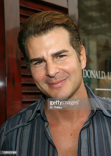 Vincent De Paul during Donald J Pliner Instore To Benefit Cure Autism Now in Los Angeles California United States