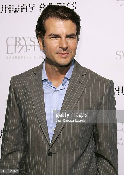 Vincent De Paul during Swarovski Runway Rocks LA Arrivals at ACE Gallery in Los Angeles California United States