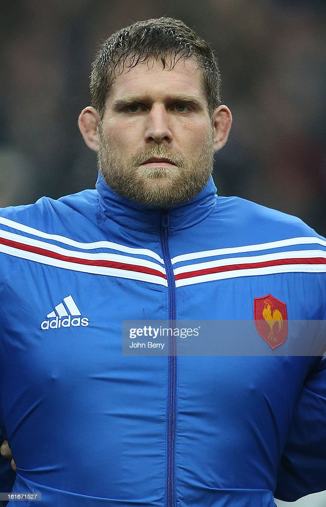 Vincent Debaty of France poses before the 6 Nations match between France and Wales at the Stade de France on February 9, 2013 in Paris, France.