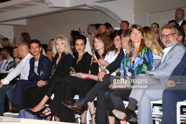 Vincent Dedienne Amanda Lear Farida Khelfa Seydoux Carla BruniSarkozy Emmanuelle Alt Owners of Gaultier Manuel Puig and his brother Marc Puig attend...