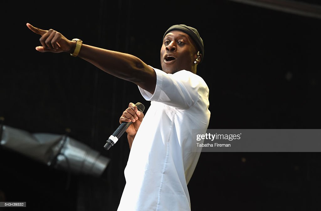 <a gi-track='captionPersonalityLinkClicked' href=/galleries/search?phrase=Vincent+Dery&family=editorial&specificpeople=11906201 ng-click='$event.stopPropagation()'>Vincent Dery</a> of Nico & Vinz performs on stage at the Sentebale Concert at Kensington Palace on June 28, 2016 in London, England. Sentebale was founded by Prince Harry and Prince Seeiso of Lesotho over ten years ago. It helps the vulnerable and HIV positive children of Lesotho and Botswana.