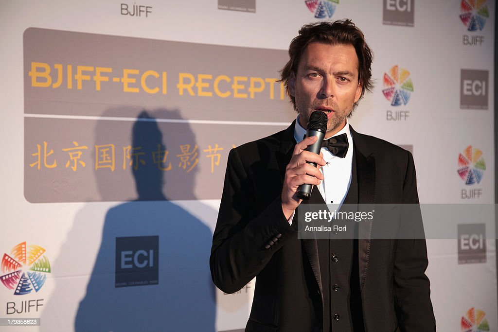 Vincent Fisher attends the Beijing International Film Festival (BJIFF) Organization Committee Reception during the 70th Venice International Film Festival at the Danieli Hotel - La Terrazza on August 31, 2013 in Venice, Italy.