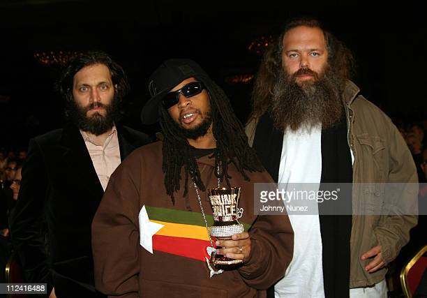 Vincent Gallo Lil' Jon and Rick Rubin during 2005 Adult Video News Awards at Venetian Hotel in Las Vegas Nevada United States