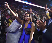Vincent Herbert and Tamar Braxton attend the 2015 Ford Neighborhood Awards Hosted By Steve Harvey at Phillips Arena on August 8 2015 in Atlanta...