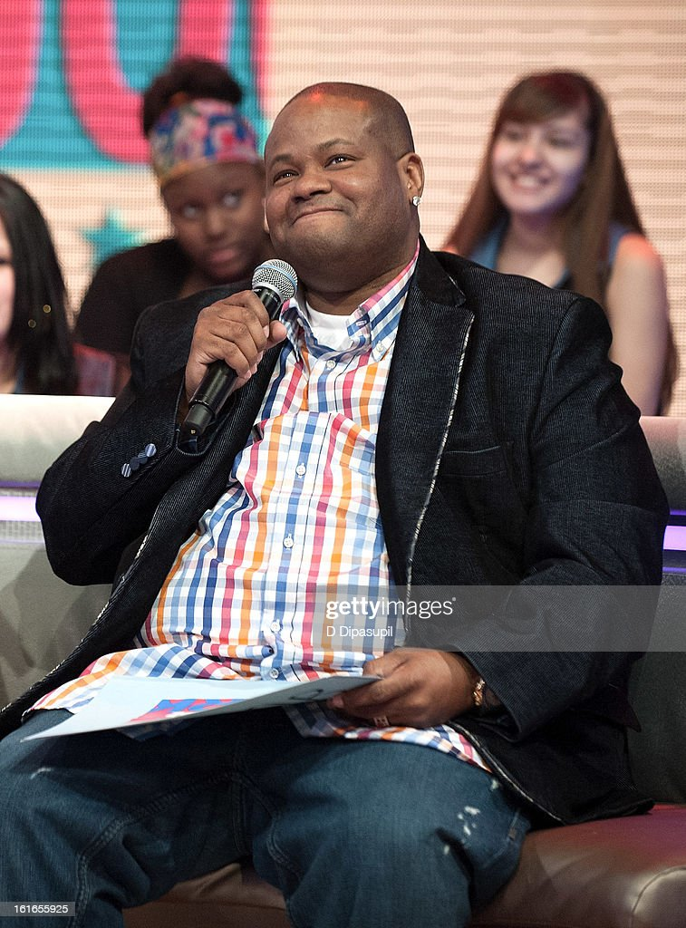 Vincent Herbert visits BET's '106 & Park' at BET Studios on February 13, 2013 in New York City.