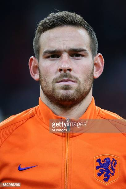 Vincent Janssen of Holland during the FIFA World Cup 2018 qualifying match between The Netherlands and Sweden at the Amsterdam Arena on October 10...