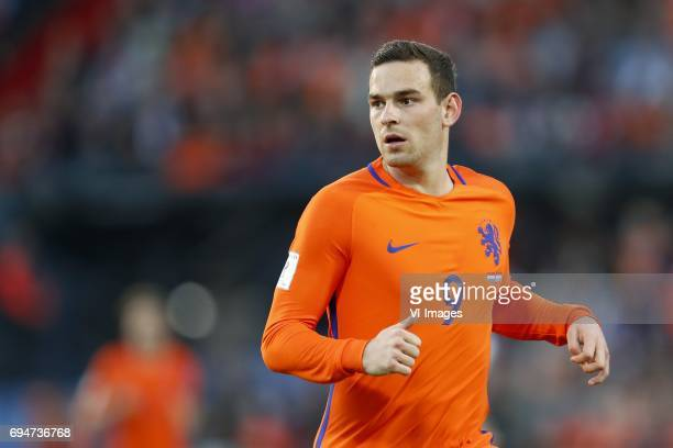 Vincent Janssen of Hollandduring the FIFA World Cup 2018 qualifying match between The Netherlands and Luxembourg at the Kuip on June 9 2017 in...