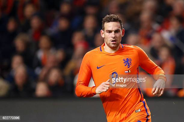 Vincent Janssen of Hollandduring the friendly match between Netherlands and Belgium at the Amsterdam Arena on November 09 2016 in Amsterdam The...