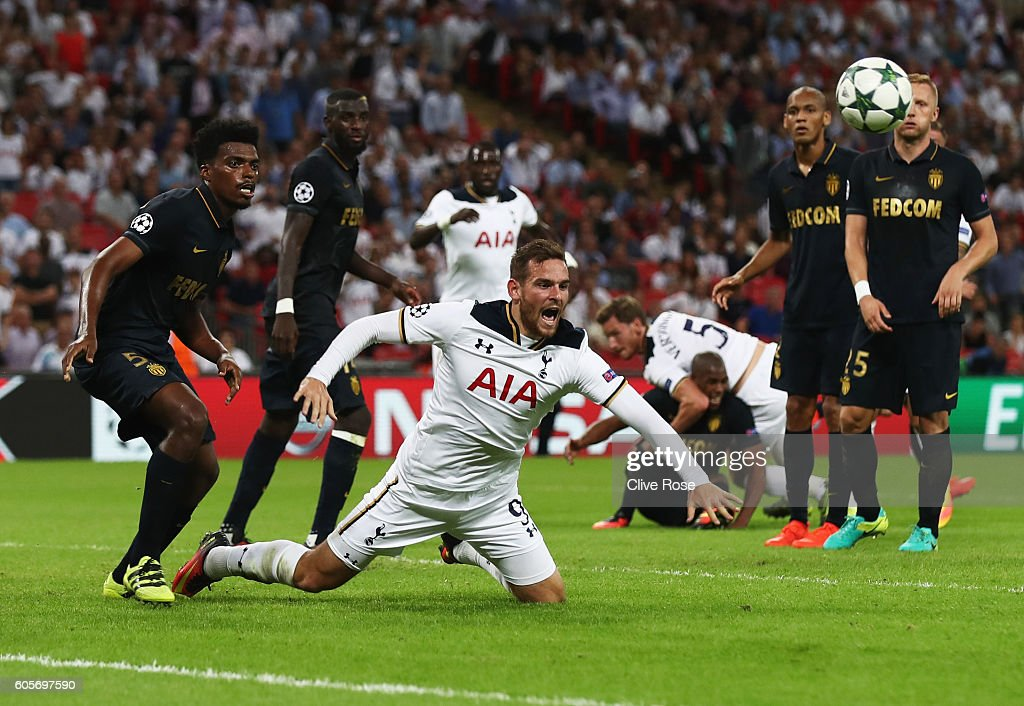 Tottenham Hotspur FC v AS Monaco FC - UEFA Champions League : News Photo