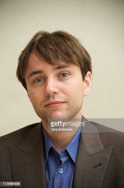 Vincent Kartheiser at the 'Mad Men' press conference at Four Seasons Hotel on August 28 2009 in Beverly Hills California
