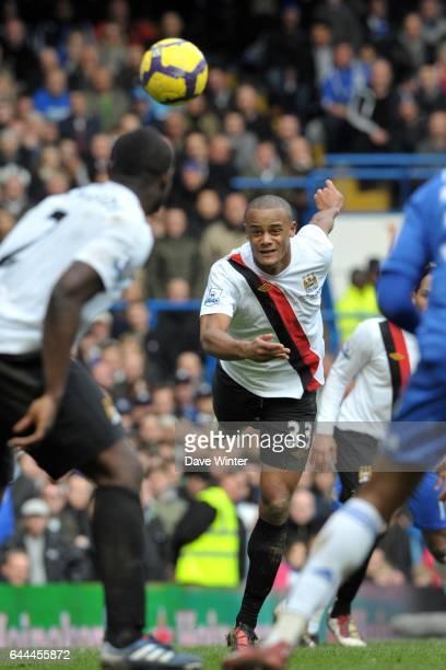 Vincent KOMPANY Chelsea / Manchester City 28e journee Premier league Photo Dave Winter / Icon Sport