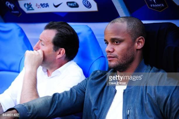 Vincent KOMPANY / Marc WILMOTS France / Belgique Match Amical Photo Dave Winter / Icon Sport