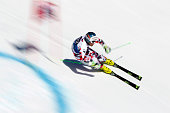 Vincent Kriechmayr of Austria competes during the Audi FIS Alpine Ski World Cup Finals Men's Giant Slalom and Women's Slalom on March 19 2016 in St...