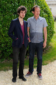 Vincent Lacoste and Reda Kateb attend the 'Hippocrate' Photocall at Hotel Mercure during the 7th Angouleme Frenchspeaking Film Festival on August 23...