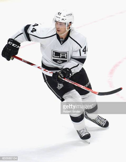 Vincent Lecavalier of the Los Angeles Kings plays in the game against the Anaheim Ducks at Staples Center on February 4 2016 in Los Angeles California