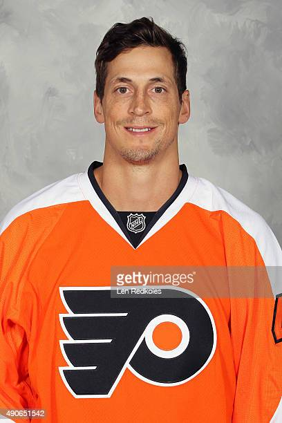 Vincent Lecavalier of the Philadelphia Flyers poses for his official headshot for the 20152016 season on September 18 2015 at the Virtua Flyers Skate...