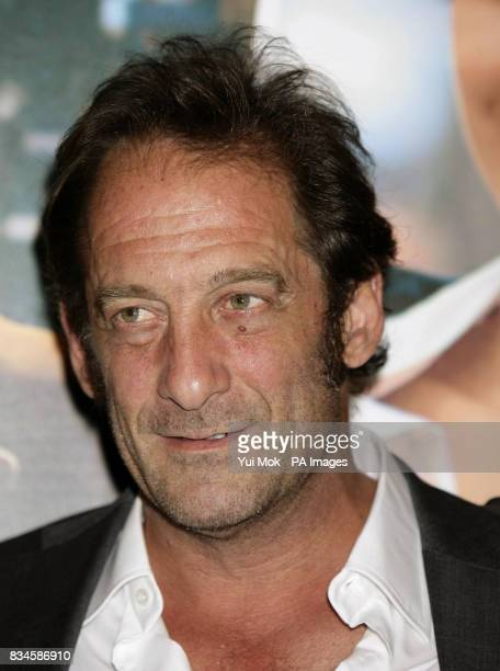 Vincent Lindon arrives for the gala premiere of French film 'Mes Amis Mes Amours' at the Cine Lumiere Institut Francais in west London