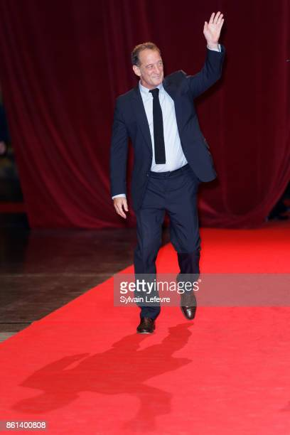 Vincent Lindon attends opening ceremony of 9th Film Festival Lumiere In Lyon on October 14 2017 in Lyon France