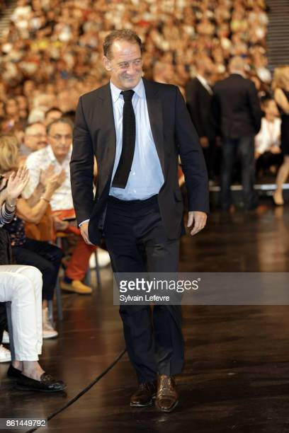 Vincent Lindon attends the opening ceremony of 9th Film Festival Lumiere In Lyon on October 14 2017 in Lyon France