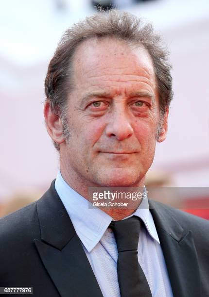 Vincent Lindon attends the 'Rodin' screening during the 70th annual Cannes Film Festival at Palais des Festivals on May 24 2017 in Cannes France