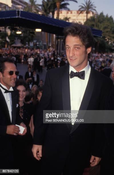 Vincent Lindon au 45eme Festival de Cannes le 15 mai 1992 a Cannes France