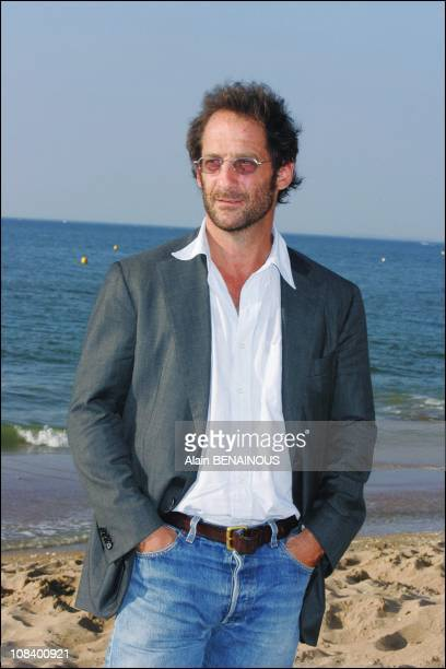 Vincent Lindon awarded for best actor in Cabourg France on June 16 2005