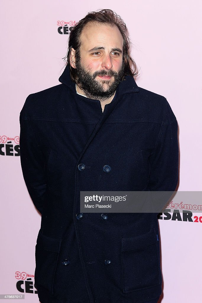 Vincent Macaigne arrives for the 39th Cesar Film Awards 2014 at Theatre du Chatelet on February 28, 2014 in Paris, France.