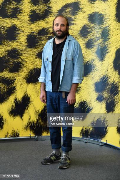 Vincent Macaigne attends 'Chien' photocall during the 70th Locarno Film Festival on August 7 2017 in Locarno Switzerland