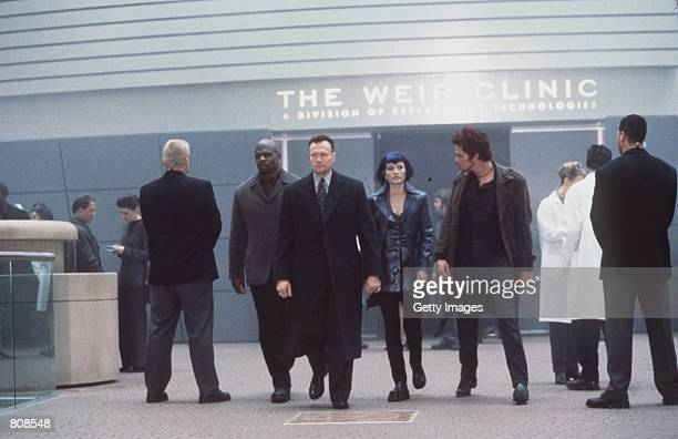 Vincent Marshall Talia and Wiley Drucker's thugs enter the Replacement Technologies compound where illegal human cloning is taking place in the...