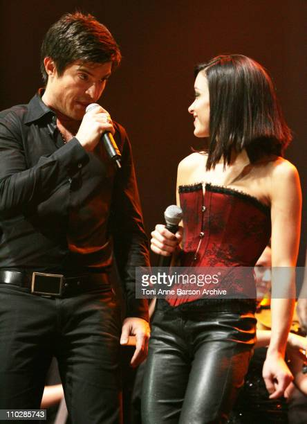 Vincent Niclo and Jenifer Bartoli during 'The 2006 Night of The Proms' at Nikaia in Nice France