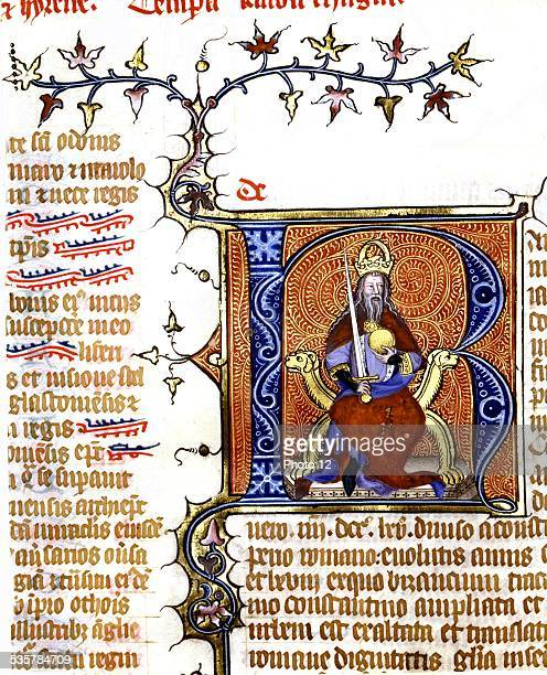 Vincent of Beauvais Speculum historiale Charlemagne 14th century France Paris Sorbonne Library