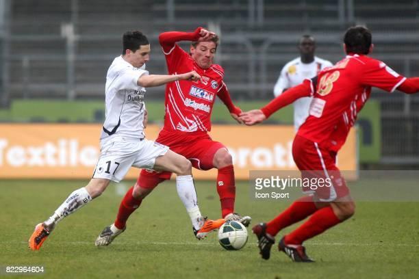 Vincent PAJOT / Mehdi MOSTEFA Nimes / Boulogne 21e journee Ligue 2