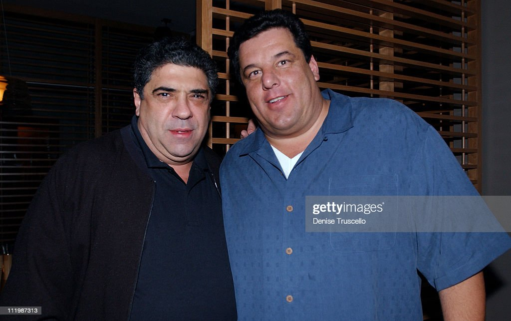Vincent Pastore and Steve Schirippa at Simon Kitchen and Bar at The Hard Rock