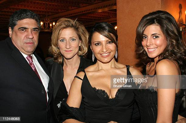 Vincent Pastore Edie Falco Kathrine Narducci and JamieLynn Sigler