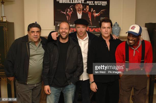 Vincent Pastore Jason Statham Director Guy Ritchie Ray Liotta and Andre Benjamin