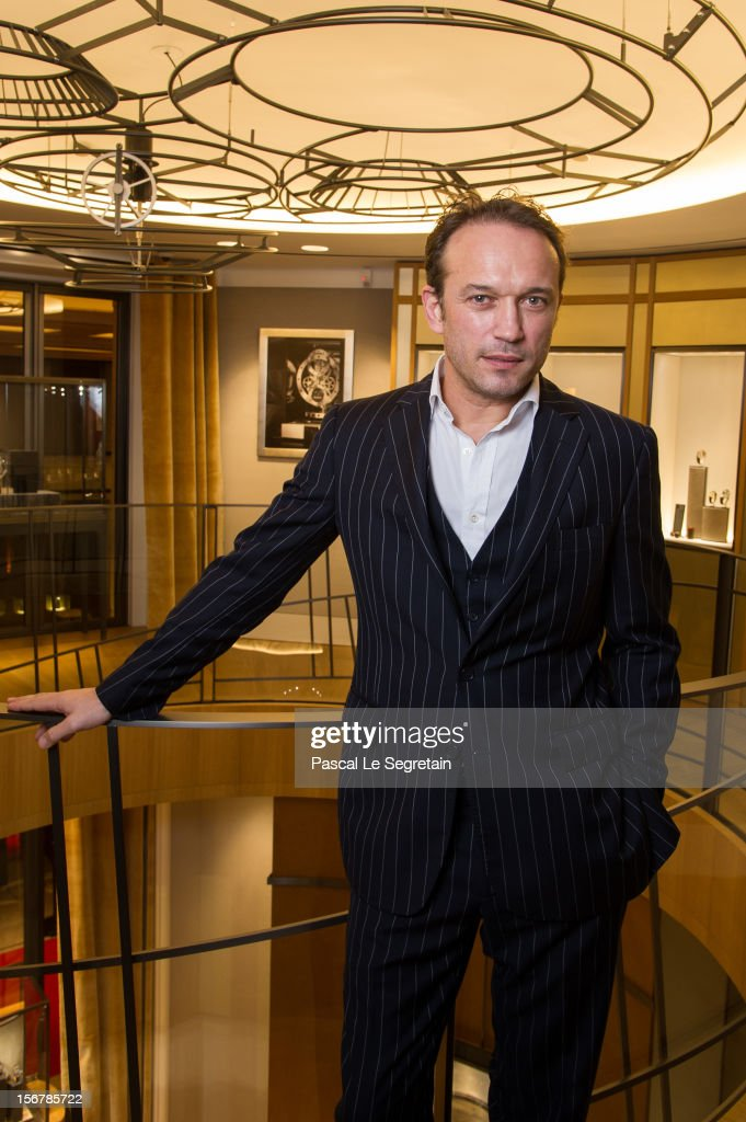 Vincent Perez attends Jaeger-LeCoultre Vendome Boutique Opening at Jaeger-LeCoultre Boutique on November 20, 2012 in Paris, France.