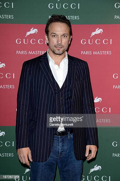 Vincent Perez attends the Gucci Paris Masters 2012 at Paris Nord Villepinte on December 1 2012 in Paris France