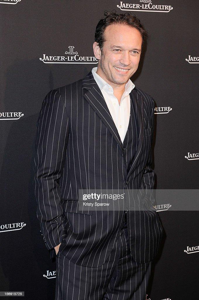 Vincent Perez attends the Jaeger-LeCoultre Place Vendome Boutique Opening at Jaeger-LeCoultre Boutique on November 20, 2012 in Paris.