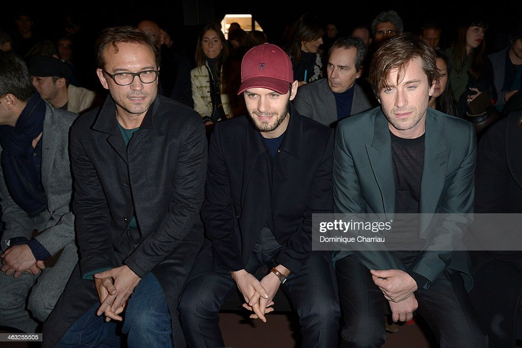front row paris fashion week menswear f w 2014 2015 getty images. Black Bedroom Furniture Sets. Home Design Ideas