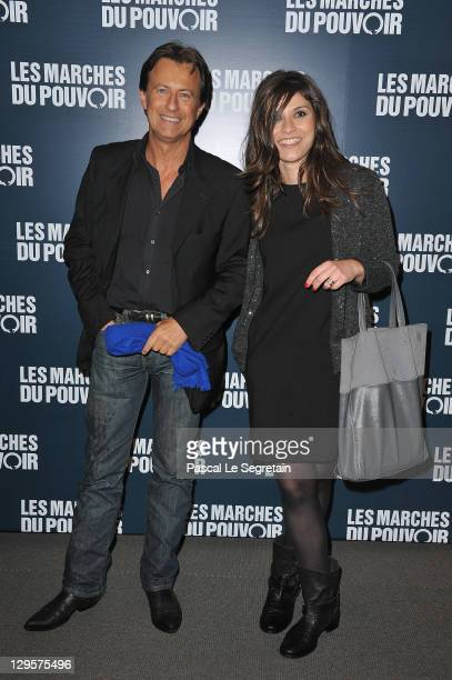 Vincent Perrot and girlfriend attend 'The Ides of March'Paris Premiere at Cinema UGC Normandie on October 18 2011 in Paris France